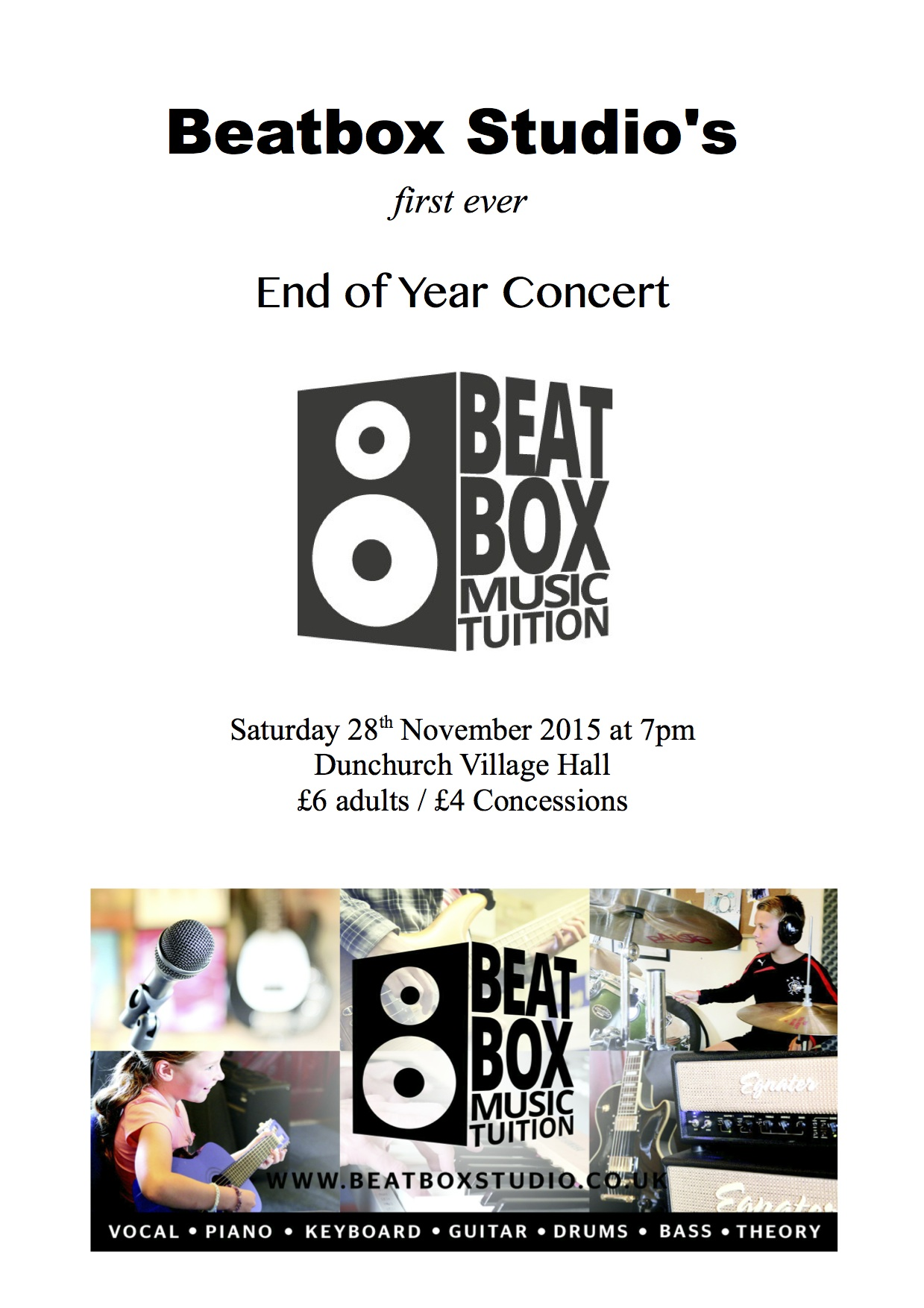 Our very first ever End of Year Concert